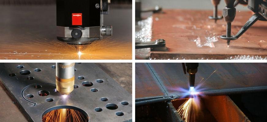 Eine Überprüfung der Technik des Metallschneidens