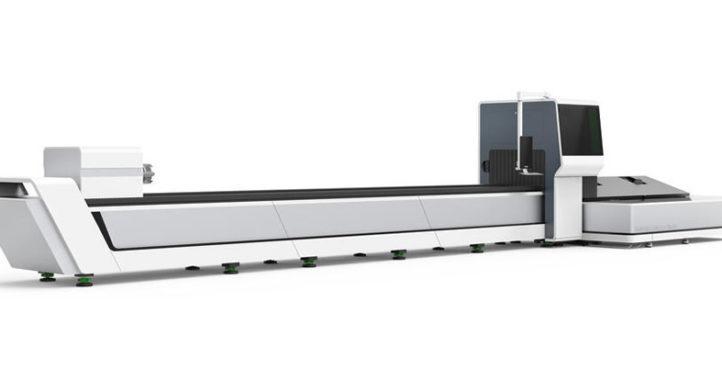 Maschine: Rohrbearbeitung mit Laser